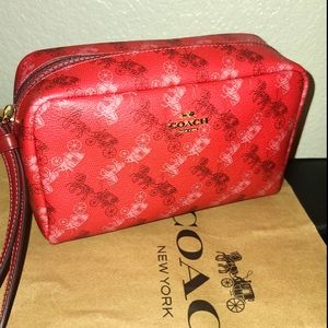 Red Coach Boxxy bag